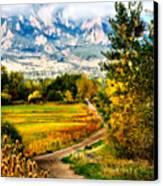 Clearly Colorado Canvas Print