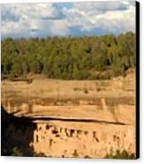 Cliff Palace Landscape Canvas Print
