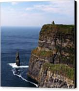 Cliffs Of Moher County Clare Ireland Canvas Print