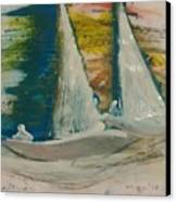 Close Haul Canvas Print by Gregory Dallum