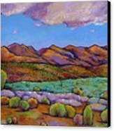 Cloud Cover Canvas Print by Johnathan Harris