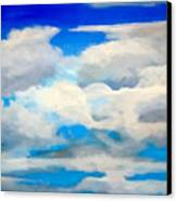 Cloud Study Canvas Print