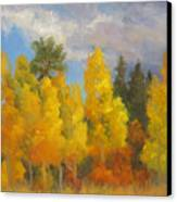 Clouds Of October Canvas Print