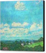 Clouds Over Fairlawn Canvas Print