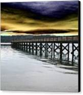 Clouds Over Illahee Canvas Print