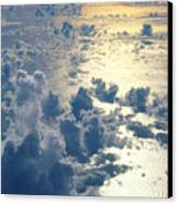 Clouds Over Ocean Canvas Print by Ed Robinson - Printscapes