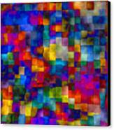 Cloudy Cubes Canvas Print