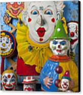 Clown Toys Canvas Print by Garry Gay