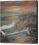 Coastal Brillancy Canvas Print