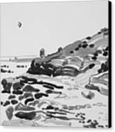 Coastline Of The Spain Canvas Print