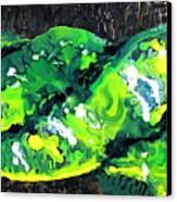 Cobra Verde Canvas Print