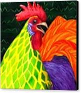 Cock A Doodle Dude II Canvas Print