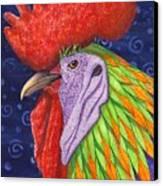 Cock A Doodle Dude IIi Canvas Print