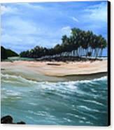 Cocos Bay Trinidad Canvas Print