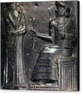 Code Of Hammurabi. Canvas Print by Granger