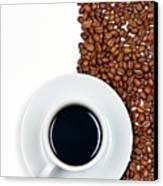 Coffee Canvas Print by Gert Lavsen