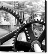 Cogs Canvas Print by Greg Fortier