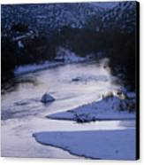 Cold And Blue Canvas Print