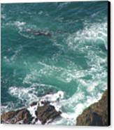 Cold California Waters Canvas Print