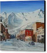 Cold Montain Canvas Print