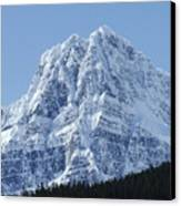 Cold Mountain- Banff National Park Canvas Print
