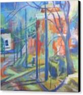 College Street Canvas Print