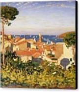 Collioure Canvas Print by James Dickson Innes