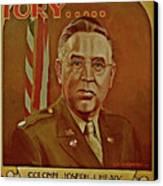 Colonel Joseph J. Healy Canvas Print by Dean Gleisberg