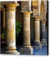 Colonnades Canvas Print by Mexicolors Art Photography