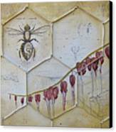Colony Collapse Disorder Canvas Print by Kristin Llamas