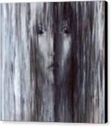 Color Of Rain Canvas Print by Patricia Ann Dees