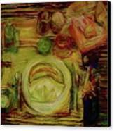 Color Study February Canvas Print by Jana Barros