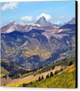 Colorado Mountains 1 Canvas Print