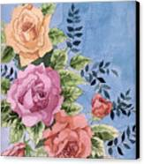 Colorfull Roses Canvas Print