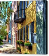 Colors Of Charleston 5 Canvas Print by Mel Steinhauer