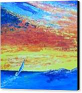 Colors Of Florida Canvas Print
