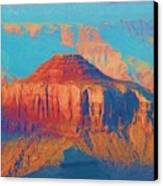 Colors Of The Southwest - Grand Canyon Canvas Print by Heidi Smith
