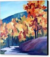 Colourful Autumn Canvas Print by Carola Ann-Margret Forsberg