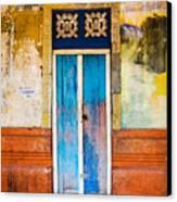Colourful Door Canvas Print