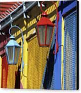 Colourful Lamps La Boca Buenos Aires Canvas Print