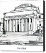 Columbia Canvas Print by Frederic Kohli