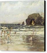 Come Unto These Yellow Sands Canvas Print by Thomas Maybank