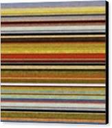 Comfortable Stripes Vl Canvas Print by Michelle Calkins
