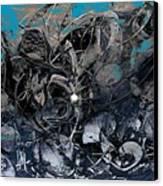 Coming To Life  Canvas Print by Teodoro De La Santa