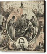 Commemoration Of The Emancipation Canvas Print