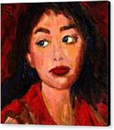 Commission Montreal Portrait Artist Classically Trained Canvas Print