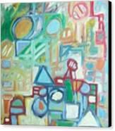 Composition No 4 Canvas Print
