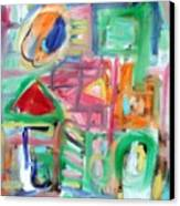 Composition No. 6 Canvas Print