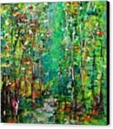 Compost Canvas Print by Chaline Ouellet