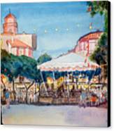 Concert To St Jean-de-luz Canvas Print